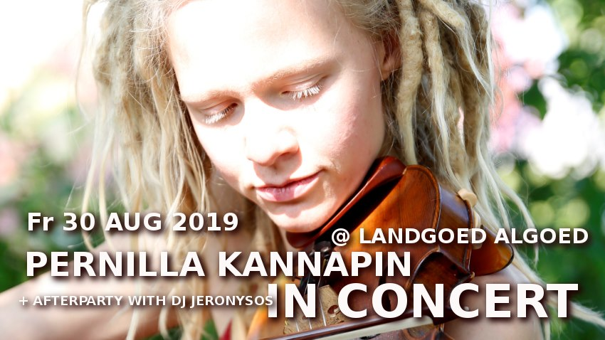Pernilla Kannapinn in Concert & afterparty