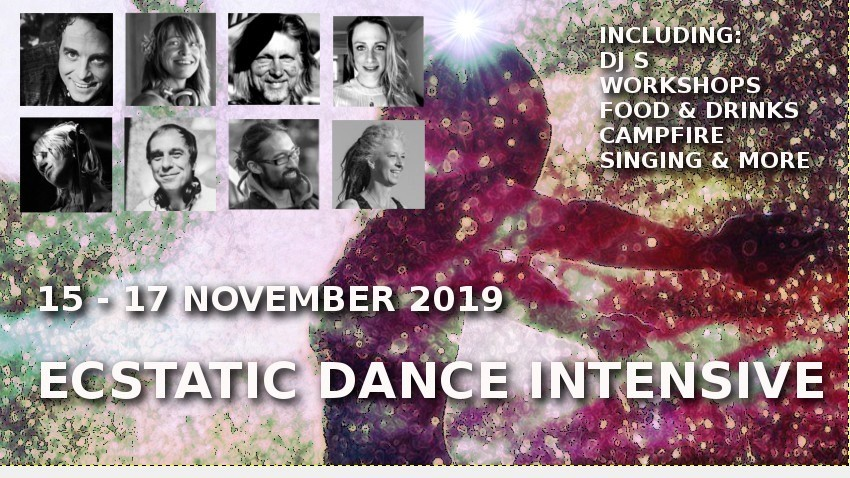 Ecstatic Dance Intensive | 15 - 17 November 2019 I All inclusive