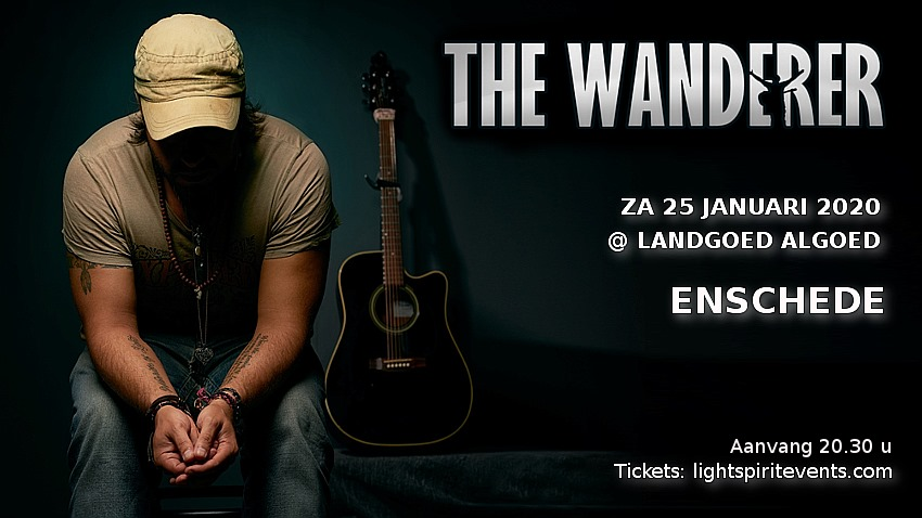 Zaterdag 25 januari: Concert The Wanderer + afterparty