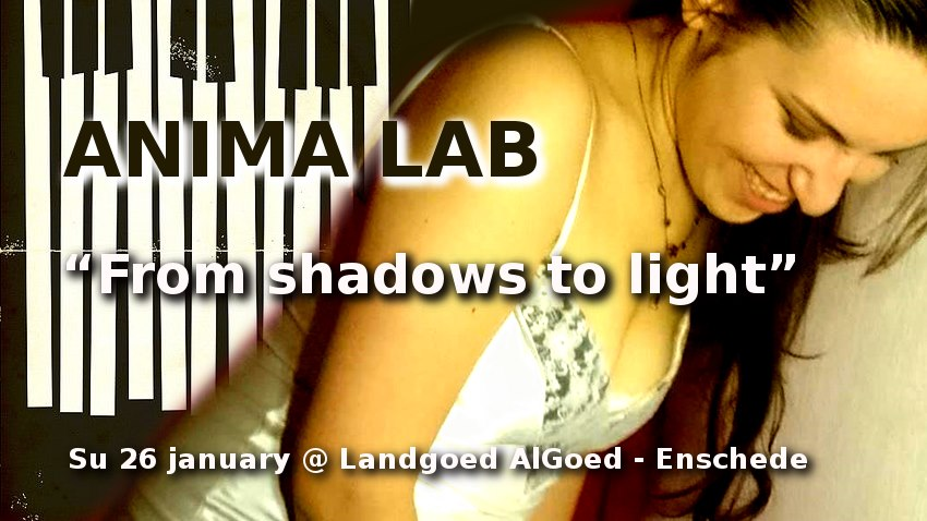 Zondag 26 januari, 12.00 uur!!!: Anima Lab – From shadows to light – concert